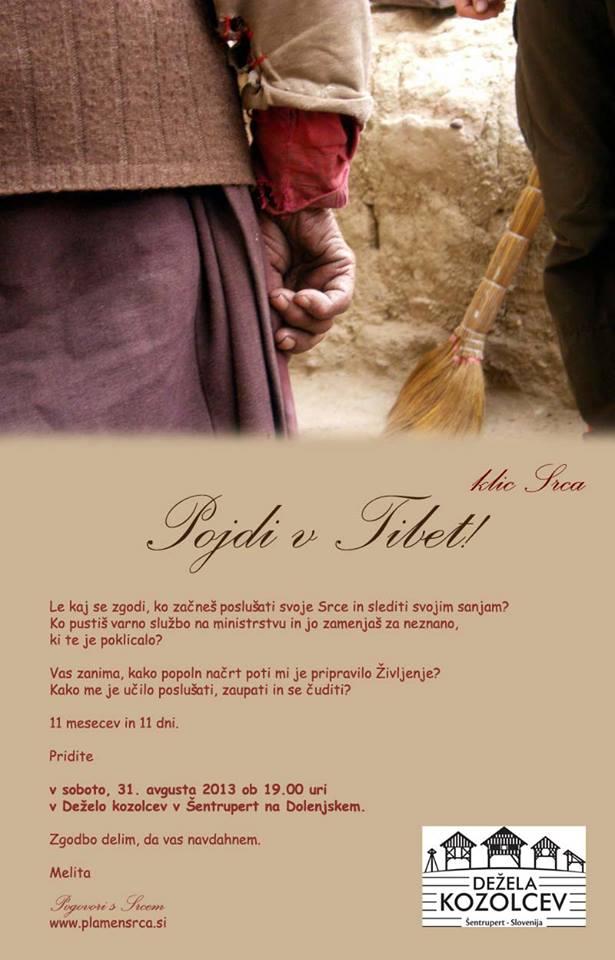 Pojdi v Tibet_klic Srca_Melita Zupancic