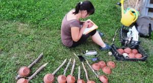 Označevanje rastlin v flančniku